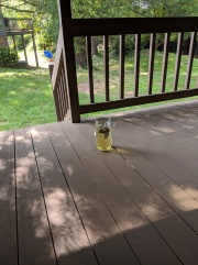 sun tea--brewed