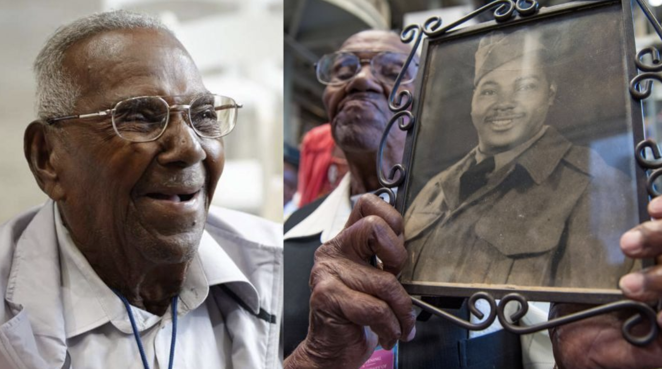 Mr Brooks, Oldest LIving WWII Vet